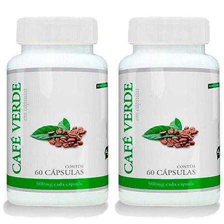 Kit Café Verde Em Cápsulas Promel Emagrecedor 120 Cáps