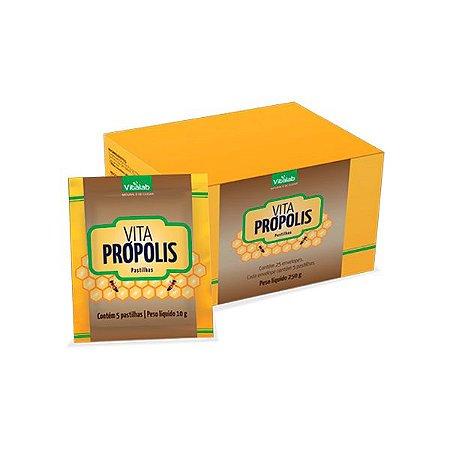 Pastilhas de Própolis Vita Própolis - 25 Envelopes - Vitalab