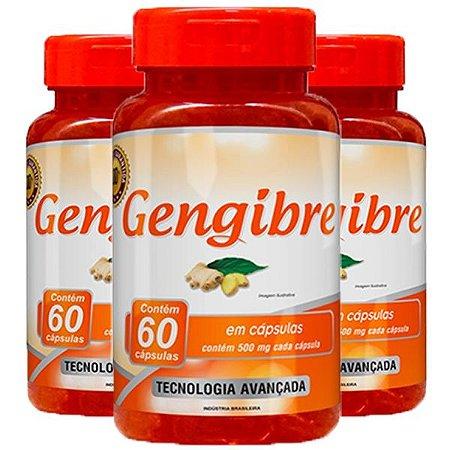 Gengibre - 3 unidades de 60 Cápsulas - Promel