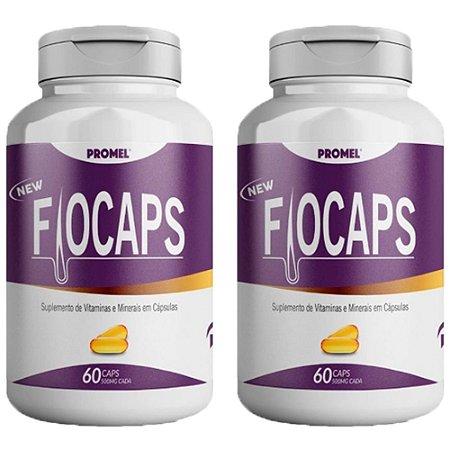Multivitamínico Fiocaps - 2 unidades de 60 Cápsulas - Promel