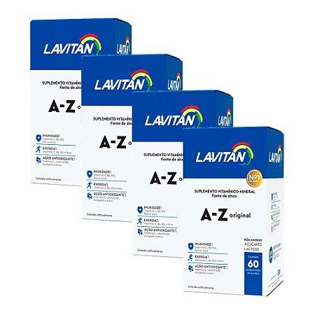 Kit Polivitamínico Lavitan A-Z Cimed 240 Comprimidos