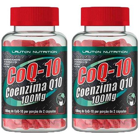 CoQ-10 Coenzima Q10 - 2 unidades de 120 Cápsulas - Lauton