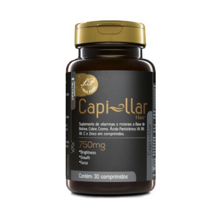 Capillar Hair Biotina Upnutri Prime 30 Comprimidos