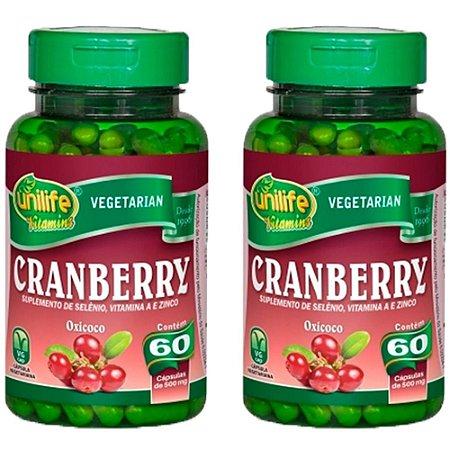 Cranberry - 2 unidades de 60 cápsulas - Unilife