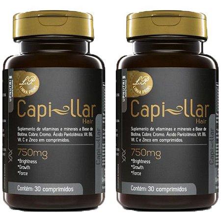 Capi-llar Hair - 2 unidades de 30 Comprimidos - Upnutri Prime