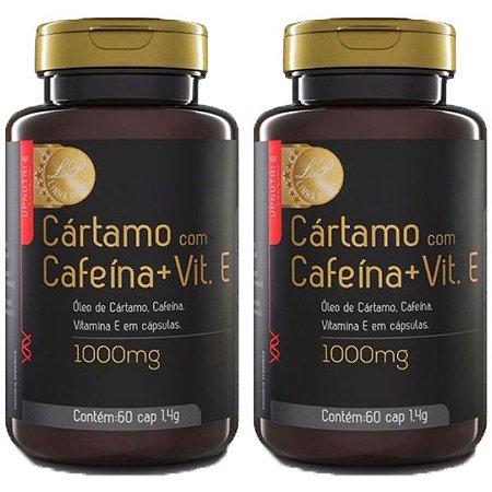 Kit Cártamo Com Cafeína e Vitamina E Upnutri Prime 120 Cáps