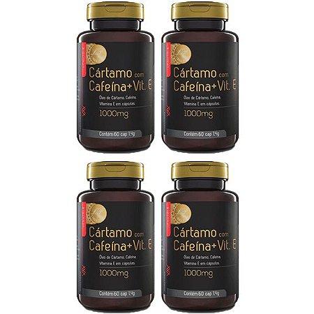 Kit Cártamo Com Cafeína e Vitamina E Upnutri Prime 240 Cáps