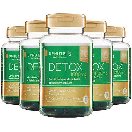Detox - 5 unidades de 60 Cápsulas - Upnutri Premium