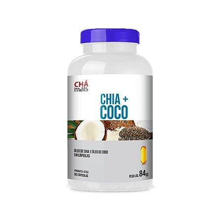 Chia + Coco - 60 Cápsulas - Clinic Mais