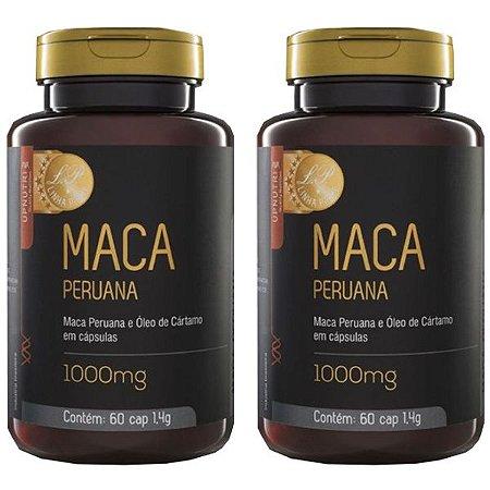 Maca Peruana e Óleo de Cártamo - 2 unidades de 60 Cápsulas - Upnutri Prime