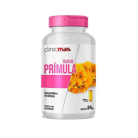 Óleo De Prímula ClinicMais Com Ácidos Graxos 60 Cápsulas