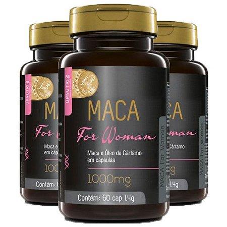 Maca For Woman - 3 unidades de 60 Cápsulas - Upnutri Prime