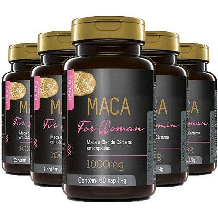 Maca For Woman - 5 unidades de 60 Cápsulas - Upnutri Prime