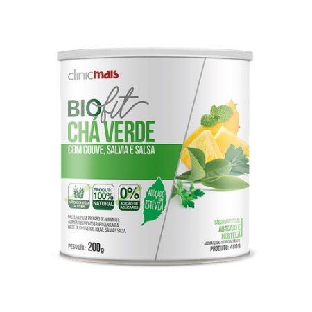 Chá Verde Biofit - 200 Gramas - Clinic Mais
