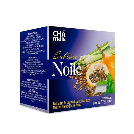 Chá Sublime Noite Chá Mais Calmante 10 Envelopes