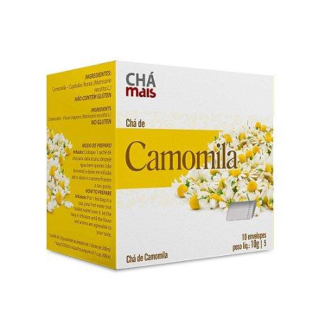 Chá de Camomila - 10 envelopes - Chá Mais