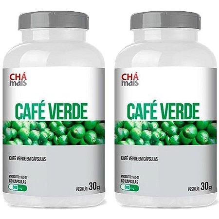 Kit Café Verde Em Cápsulas ClinicMais Emagrecedor 120 Cáps