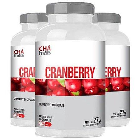 Cranberry - 3 unidades de 60 Cápsulas - Clinic Mais