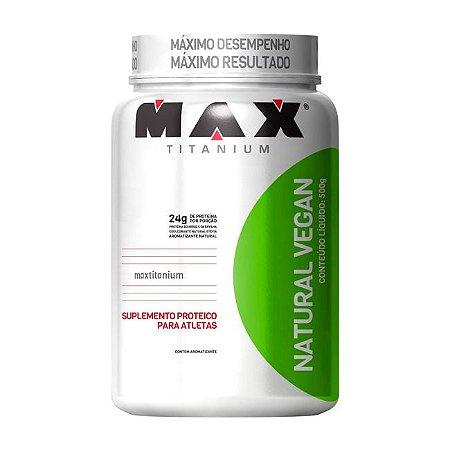 Natural Vegan - 500 Gramas - Max Titanium