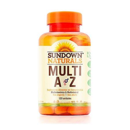 Multivitamínico Multi A-Z - 120 Comprimidos - Sundown