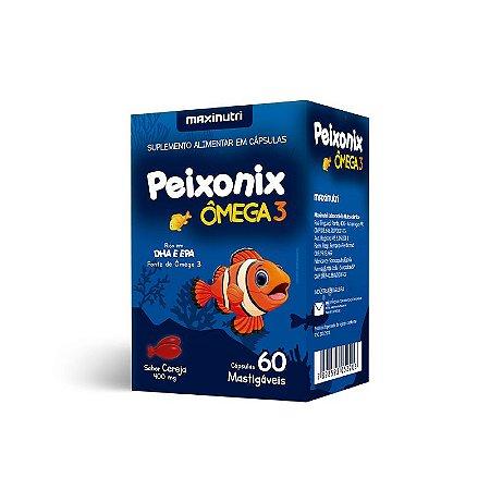 Peixonix Ômega 3 Óleo De Peixe Maxinutri 60 Cápsulas