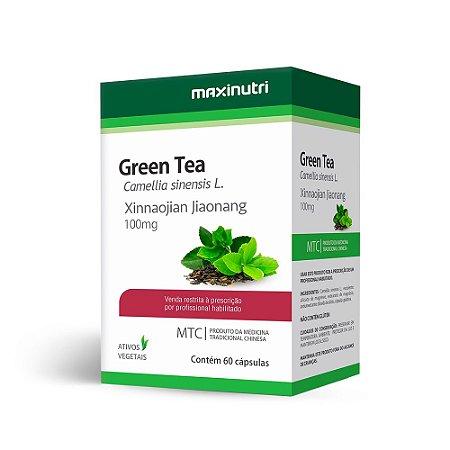 Chá Verde (Camellia sinensis) - 60 Cápsulas - Maxinutri