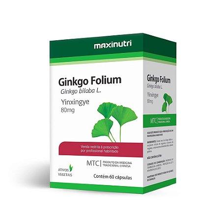 Ginkgo Biloba - 60 Cápsulas - Maxinutri