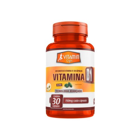 Vitamina B1 - 30 Cápsulas - Promel