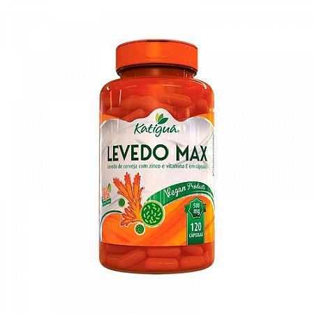 Levedo Max - 120 Cápsulas - Katigua