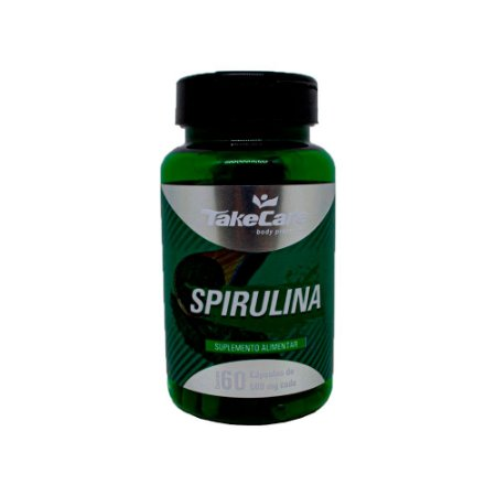 Spirulina - 60 Cápsulas - Take Care