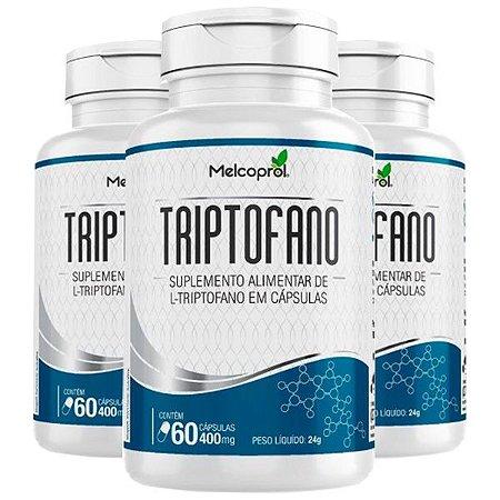 KitTriptofano Melcoprol L-Triptofano Suplemento 180 Cáps