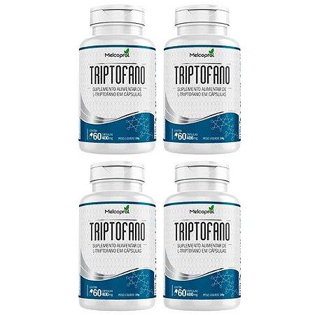 Triptofano - 4 unidades de 60 Cápsulas - Melcoprol