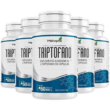 Triptofano - 5 unidades de 60 Cápsulas - Melcoprol