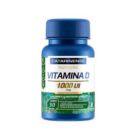 Vitamina D 1000 UI - 30 Cápsulas - Catarinense