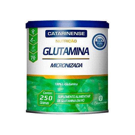 Glutamina L-Glutamina Micronizada Catarinense 250g