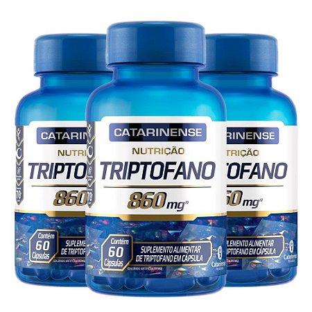 KitTriptofano Catarinense L-Triptofano Suplemento 180 Cáps