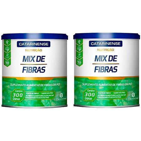 Mix de Fibras - 2 unidades de 300 Gramas - Catarinense