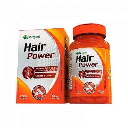 Hair Power Cabelos e Unhas - 90 Cápsulas - Katigua