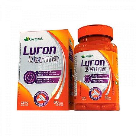 Luron Derma Ácido Hialurônico BPM Katigua 60 Cápsulas