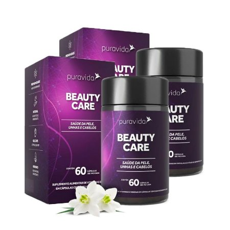 Kit Beauty Care Polivitamínico Puravida 120 Cápsulas