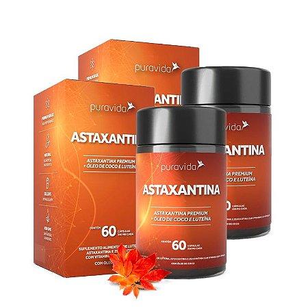Astaxantina - 2 unidades de 60 Cápsulas - Puravida