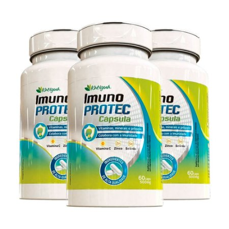 Imuno Protec - 3 unidades de 60 Cápsulas - Katigua