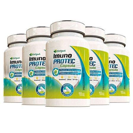 Kit Imuno Protec Cabelos e Unhas Katigua Vitamina C 300 Cáps