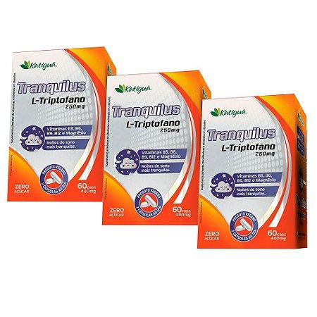 KitTranquilus L-Triptofano Katiguá Suplemento 180 Cápsulas