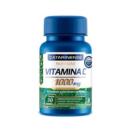 Vitamina C 1000mg - 30 Comprimidos - Catarinense