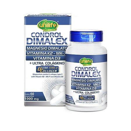 Condrol Dimalex Colágeno Tipo II Unilife 60 Comprimidos