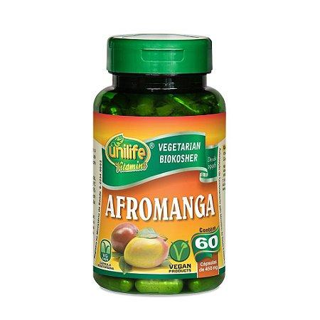 Afromanga Emagrecedor Manga Africana Unilife 60 Cápsulas