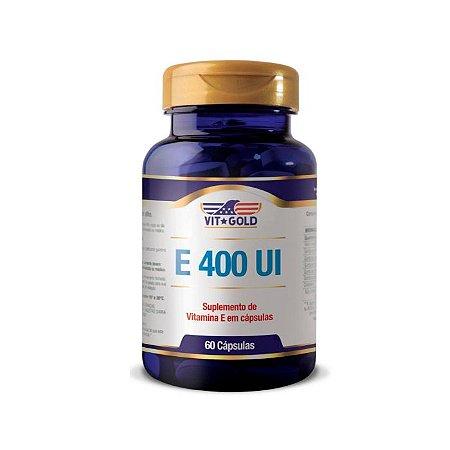 Vitamina E 400 UI - 60 Cápsulas - VitGold