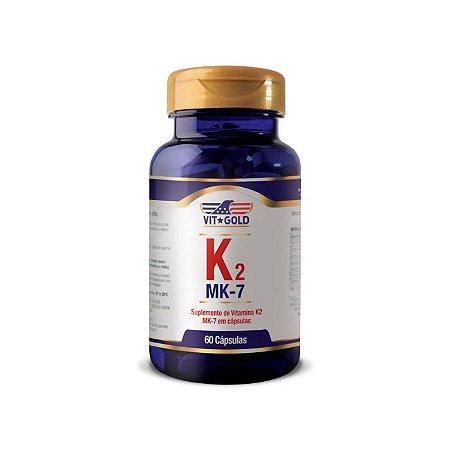 Vitamina K2 - 60 Cápsulas - VitGold