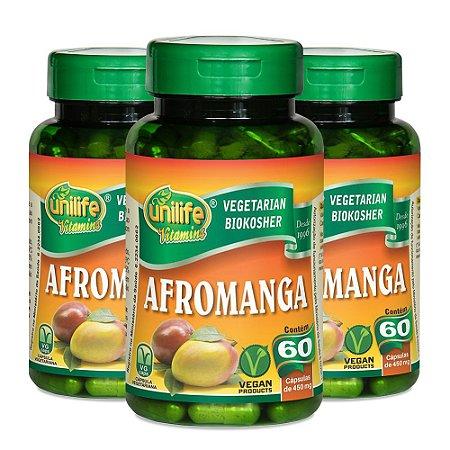 Afromanga - 3 unidades de 60 Cápsulas - Unilife